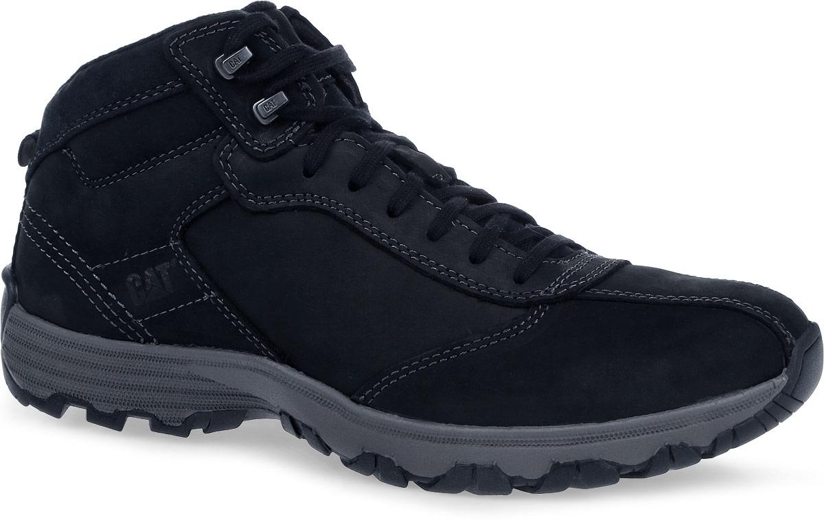Ботинки мужские Caterpillar Loop TX, цвет: черный. P720718. Размер 8 (41)P720718Мужские утепленные ботинки Caterpillar Loop TX с утеплением Tinsulate 200 г созданы для активного отдыха и путешествий. Верх ботинок выполнен из натуральной кожи, что позволяет чувствовать себя комфортно в любую погоду. Антиабразивные компоненты подошвы гарантируют прочность и долгий срок службы без трещин и разрывов. Резиновая подошва обеспечивает высокую степень надежности и сцепление на поверхности. Облегченная подошва, делает ботинок невесомым. Классическая шнуровка надежно фиксирует обувь на ноге.