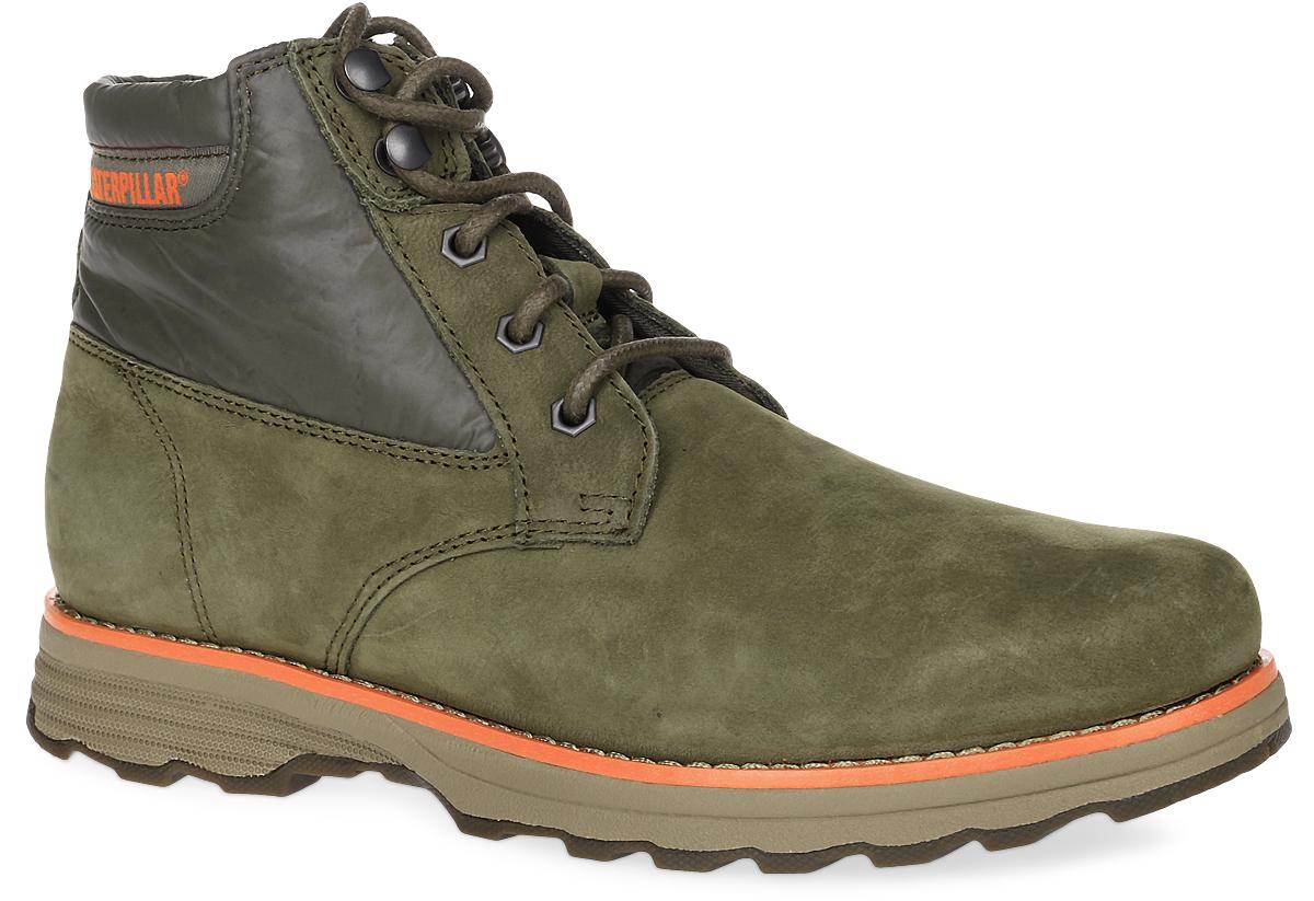 Ботинки женские Caterpillar Malena, цвет: коричнево-оливковый. P307993. Размер 8H (39)P307993Женские ботинки Caterpillar Malena созданы как для повседневной носки, так и для путешествий и активного отдыха. Верх выполнен из натуральных материалов, что обеспечивает отличную посадку на ноге, мягкость и легкость обуви. Облегченная подошва Ease делает ботинок невесомым. Утеплитель Thinsulate устойчивый к сжатию, компактный, тонкий, износостойкий синтетический утеплитель. Аккумулирует тепло выделяемое при движении и обеспечивает вентиляцию. Резиновая подошва обеспечивает высокую степень надежности и сцепление на поверхности. Классическая шнуровка надежно фиксирует обувь на ноге.