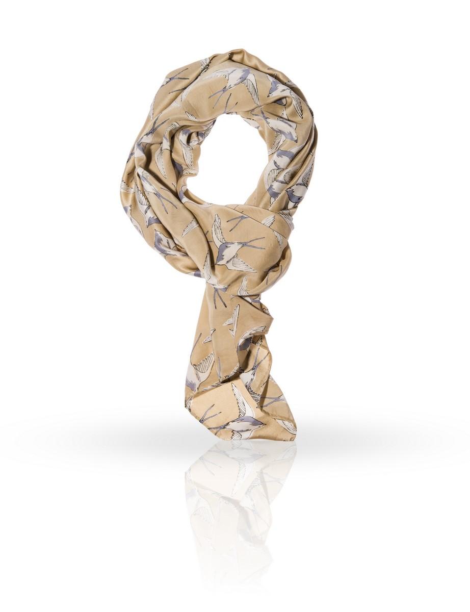 Платок Michel Katana, цвет: бежевый, серый. SS-DOVE. Размер 110 см х 110 смSS-DOVE/BROWNЭлегантный шелковый платок Michel Katana станет изысканным нарядным аксессуаром, который призван подчеркнуть индивидуальность и очарование женщины.