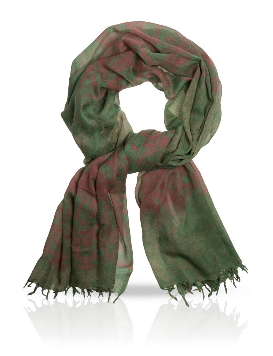 Палантин Michel Katana, цвет: зеленый, розовый. W-BAMBOO. Размер 100 см х 200 смW-BAMBOO/TURQUПриродное происхождение этого палантина не требует лишних доказательств. И цвет, и материал, из которого он сделан, говорят о том, что перед вами - кусочек природы, ограниченный прямоугольной формой. Аксессуар великолепно сочетается с кожей и другими натуральными материалами.