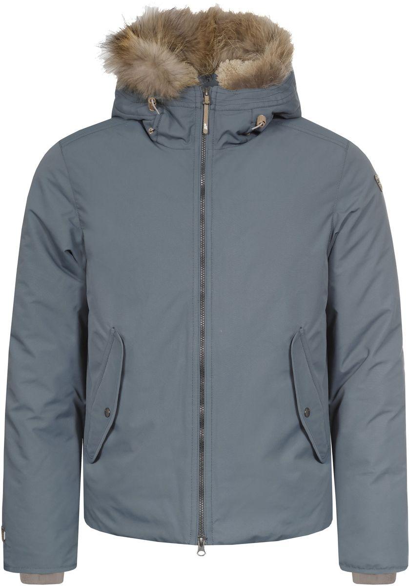 Куртка мужская Icepeak Tuck, цвет: серо-зеленый. 656053532IV. Размер M (50)656053532IV_569Мужская куртка Icepeak Tuck выполнена из непромокаемой и непродуваемой ткани. Куртка с несъемным капюшоном застегивается на удобную застежку-молнию спереди. Капюшон дополнен шнурком-кулиской со стопперами. Рукава оснащены внутренними трикотажными манжетами. Спереди расположены два втачных кармана на застежках-молнияхклапанами на кнопках, изнутри - втачной карман на застежке-молнии и накладной карман-сетка.