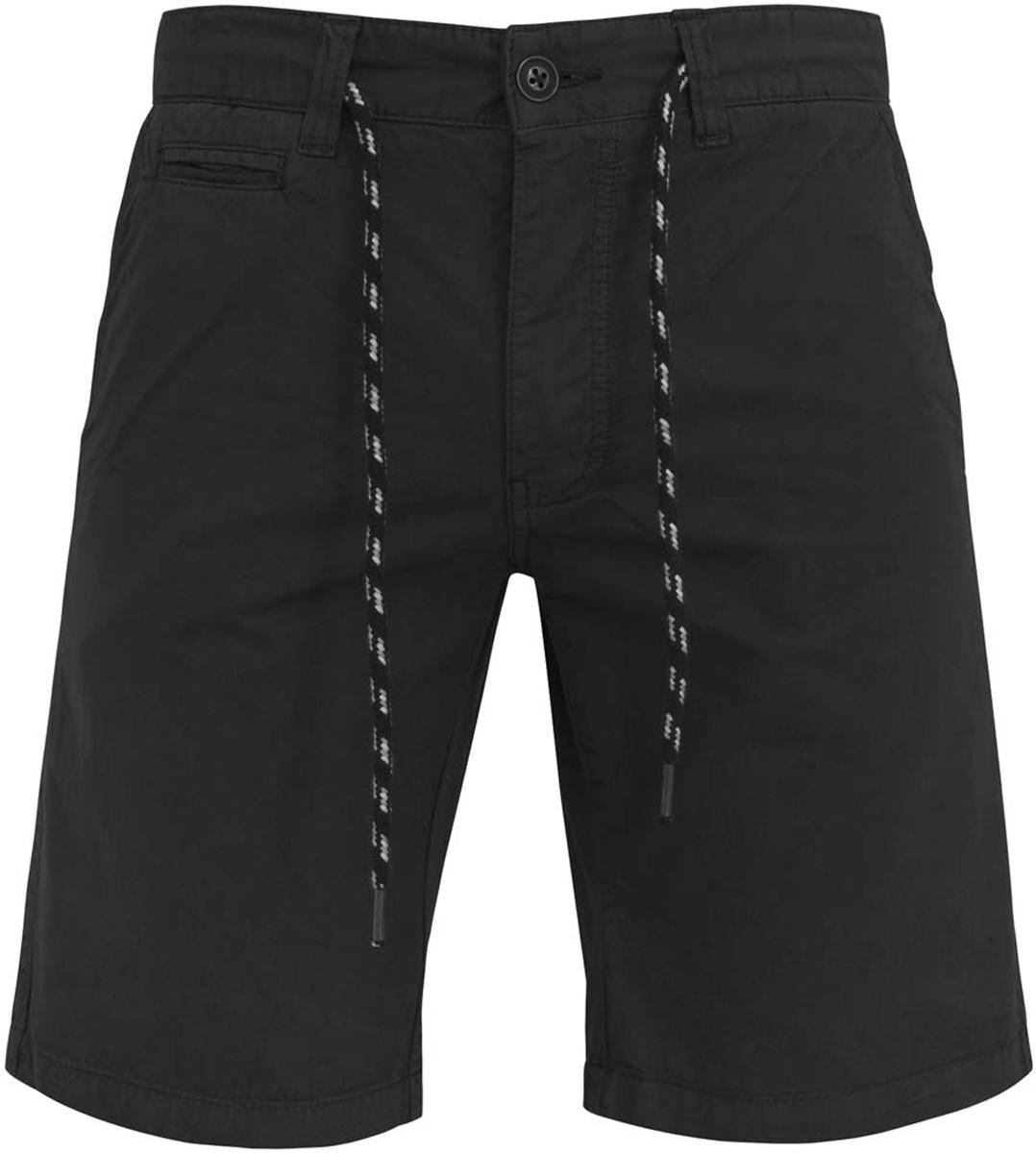 Шорты мужcкие oodji Basic, цвет: черный джинс. 2B710004M/39765N/2900W. Размер 36-182 (44-182)2B710004M/39765N/2900WСтильные мужские шорты oodji Basic изготовлены из хлопка. Модель застегивается на пуговицу и ширинку на застежке-молнии, имеются затягивающийся шнурок и шлевки для ремня. Спереди шорты дополнены двумя втачными карманами и одним маленьким прорезным кармашком, сзади - двумя прорезными карманами с пуговицами.