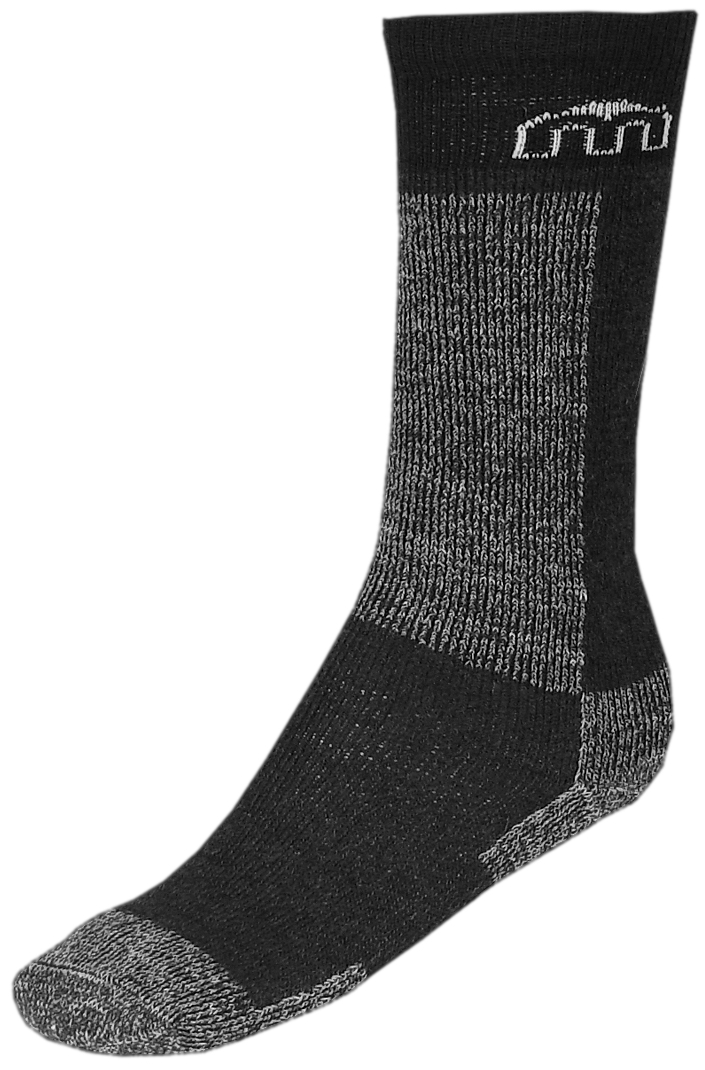 Носки горнолыжные детские Mico Kids, цвет: серый, черный. 2605_002. Размер L (33/35) - Одежда
