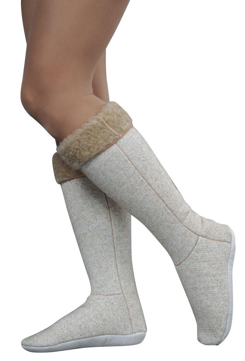 Гольфы компрессионные Holty, цвет: бежевый. 040201-0400.18. Размер M (36/38)040201-0400.18Компрессионные гольфы Holty изготовлены из натуральной овечьей шерсти. Мягкие согревающие гольфы имеют эластичную резинку, которая надежно фиксирует их на ноге.