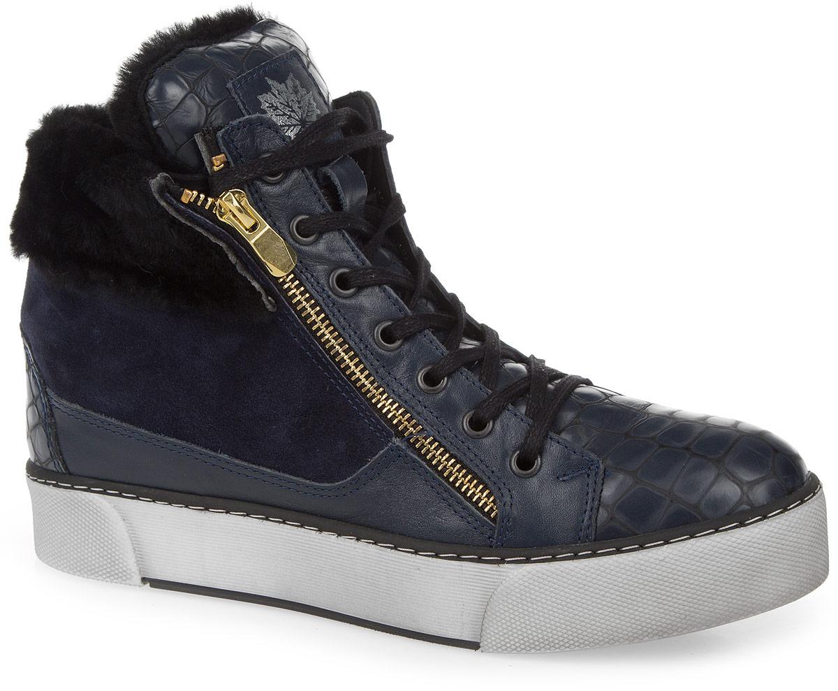 Ботинки женские Dino Ricci, цвет: темно-синий. 803-14-01(M). Размер 38803-14-01(M)Женские ботинки от Dino Ricci выполнены из натуральной кожи, оформленной под рептилию, со вставкой из замши. Подъем оформлен шнуровкой и декоративной молнией, боковая сторона - застежкой-молнией. По канту модель декорирована натуральным мехом. Подкладка и стелька изготовлены из натурального меха. Полимерная подошва оснащена рифлением.