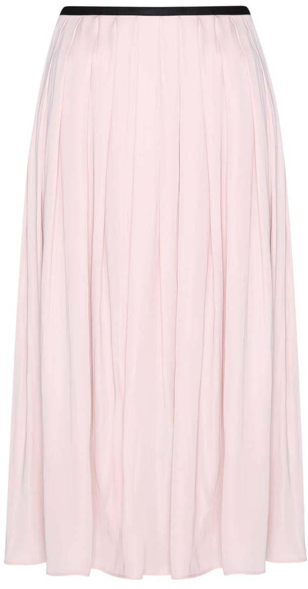 Юбка oodji Ultra, цвет: светло-розовый. 11600379-1/42662/4000N. Размер 44-170 (50-170)11600379-1/42662/4000NПлиссированная юбка oodji Ultra полностью выполнена из полиэстера. Модель-миди застегивается на застежку-молнию сбоку.