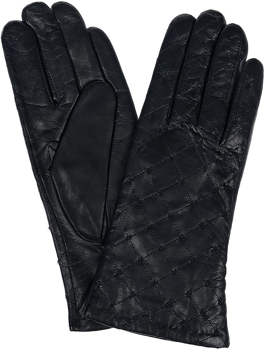 Перчатки женские Dali Exclusive, цвет: черный. 11_STORRY. Размер 6,511_STORRY/BlЖенские перчатки Dali Exclusive не только защитят ваши руки, но и станут великолепным украшением. Перчатки выполнены из натуральной кожи, а подкладка - из высококачественной шерсти. Модель оформлена декоративной прострочкой.