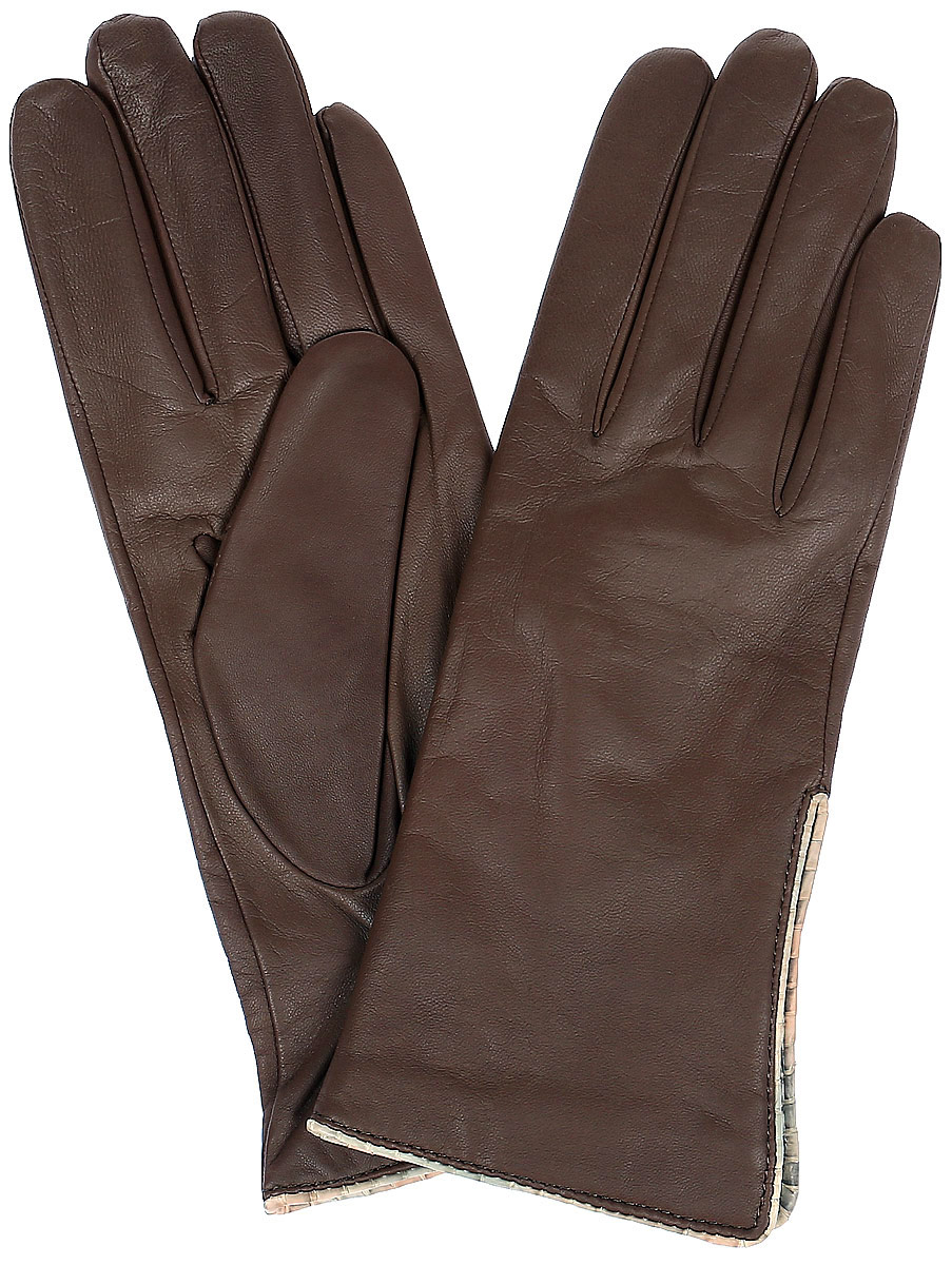 Перчатки женские Dali Exclusive, цвет: коричневый. R11_LUARA. Размер 6,5R11_LUARA/TAUСтильные женские перчатки Dali Exclusive не только защитят ваши руки, но и станут великолепным украшением. Перчатки выполнены из натуральной кожи, а их подкладка - из высококачественной шерсти. Модель оформлена на запястье эластичной строчкой-стежками.