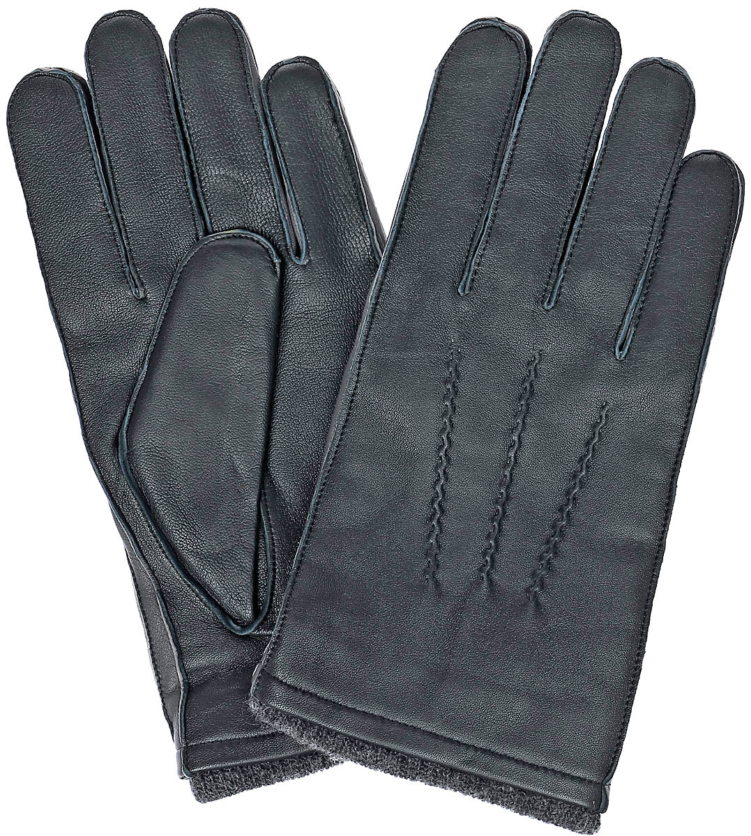 Перчатки мужские Fabretti, цвет: темно-серый. 12.48-9. Размер 912.48-9 greyСтильные мужские перчатки Fabretti не только защитят ваши руки, но и станут великолепным украшением. Перчатки выполнены из натуральной кожи ягненка, а их подкладка - из высококачественной шерсти с добавлением кашемира.Модель дополнена декоративными швами в виде трех лучей. Перчатки имеют строчки-стежки на запястье, которые придают большее удобство при носке.Стильный аксессуар для повседневного образа.