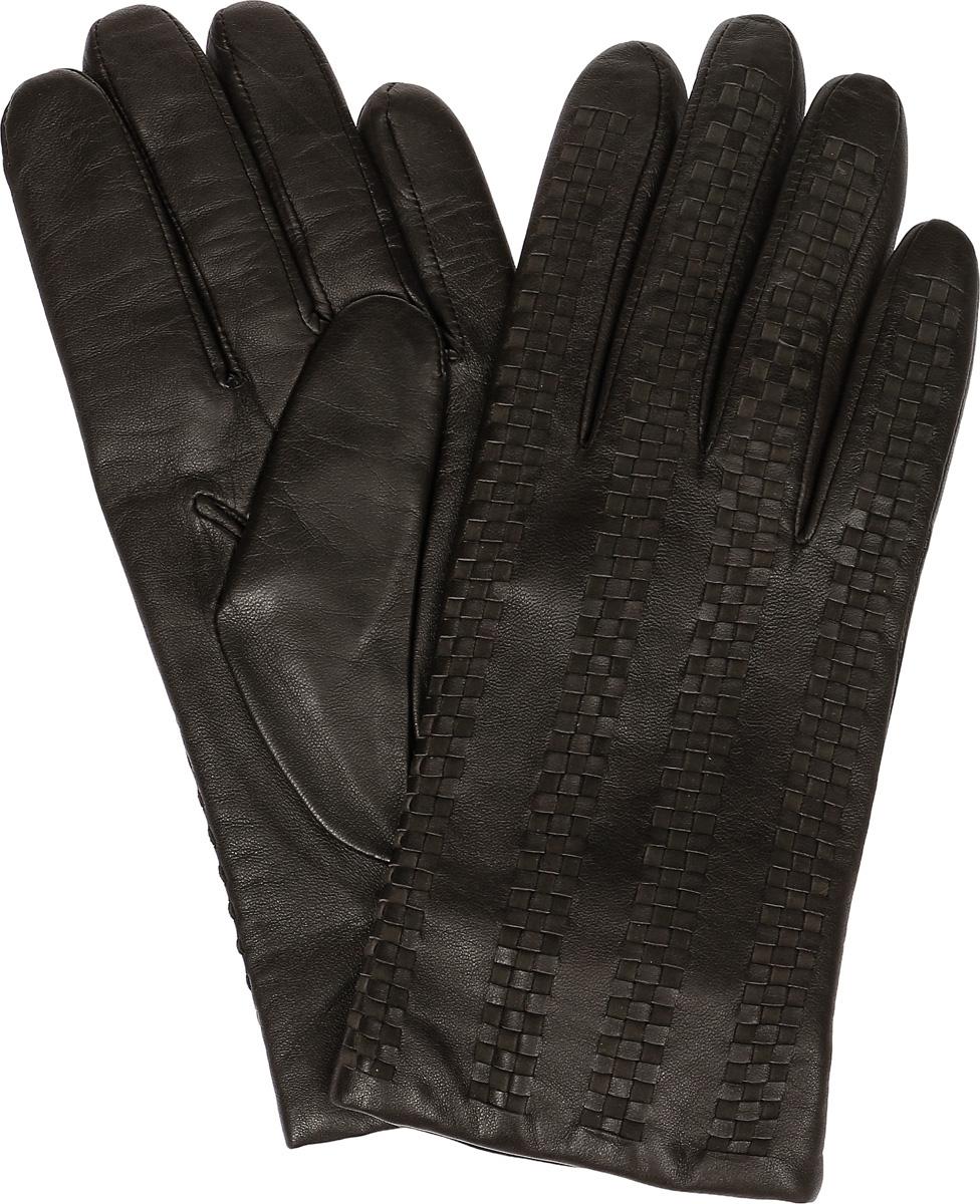 Перчатки мужские Dali Exclusive, цвет: коричневый. 11_ARAMER. Размер 811_ARAMER/BR//11Мужские перчатки Dali Exclusive не только защитят ваши руки, но и станут великолепным украшением. Перчатки выполнены из натуральной кожи, а подкладка - из высококачественной шерсти. Модель оформлена декоративным узором.