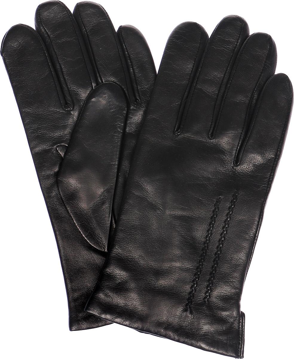 Перчатки мужские Michel Katana, цвет: черный. K11-MONTAIGU. Размер 9K11-MONTAIGU/BLМужские перчатки Michel Katana не только защитят ваши руки, но и станут великолепным украшением. Перчатки выполнены из натуральной кожи, а подкладка - из высококачественной шерсти. Модель оформлена декоративными прострочками.