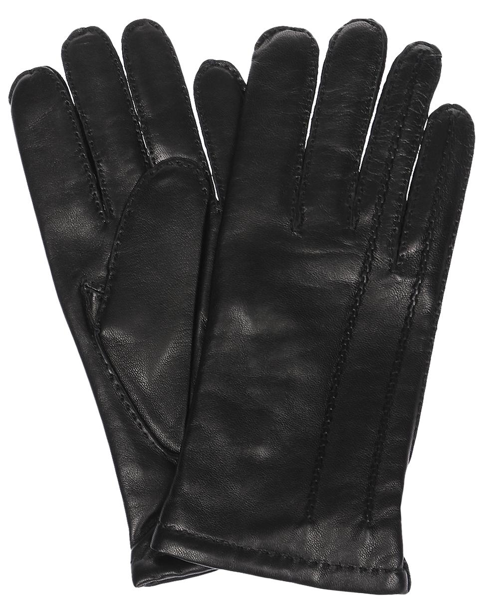 Перчатки мужские Michel Katana, цвет: черный. K100-MEZIER. Размер 9,5K100-MEZIER/BLМужские перчатки Michel Katana не только защитят ваши руки, но и станут великолепным украшением. Перчатки выполнены из натуральной кожи, а подкладка - из высококачественной шерсти. Модель оформлена декоративными прострочками.