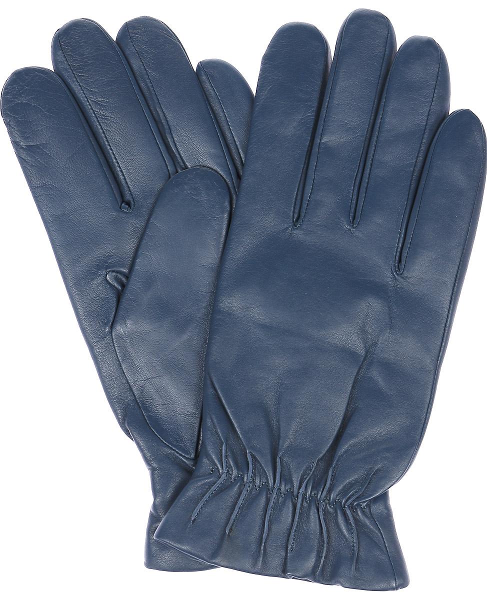 Перчатки мужские Michel Katana, цвет: темно-бирюзовый. K11-TULLYER. Размер 8,5K11-TULLYER/TEALМужские перчатки Michel Katana не только защитят ваши руки, но и станут великолепным украшением. Перчатки выполнены из натуральной кожи, а подкладка - из высококачественной шерсти.