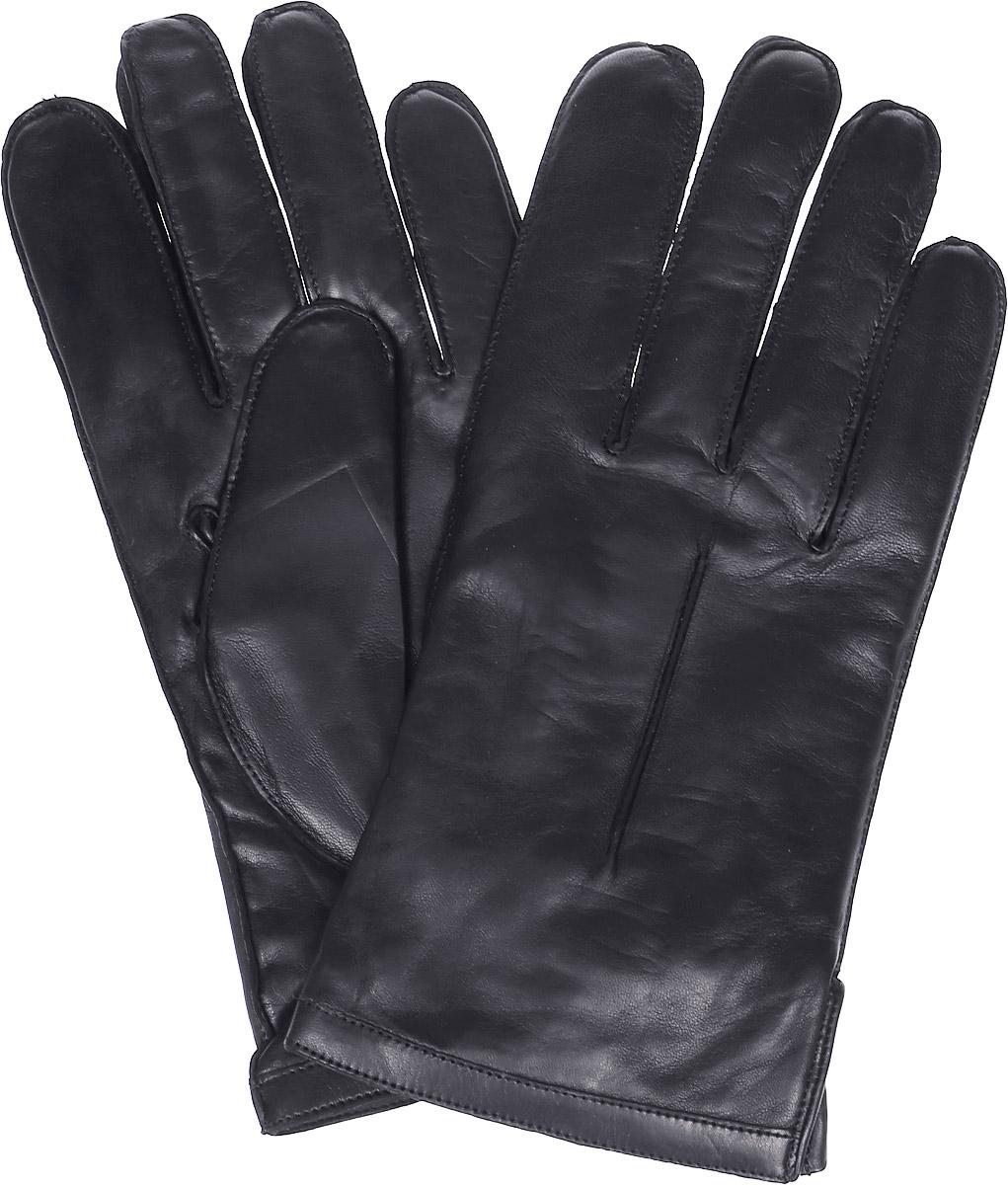 Перчатки мужские Michel Katana, цвет: черный. K12-NANCY. Размер 9K12-NANCY/BLМужские перчатки Michel Katana не только защитят ваши руки, но и станут великолепным украшением. Перчатки выполнены из натуральной кожи, а подкладка - из высококачественной шерсти. Модель оформлена декоративными прострочками.
