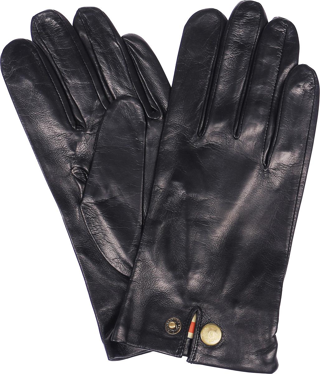 Перчатки мужские Michel Katana, цвет: черный. K81-EVENCH. Размер 9,5K81-EVENCH/BLМужские перчатки Michel Katana не только защитят ваши руки, но и станут великолепным украшением. Перчатки выполнены из натуральной кожи, а подкладка - из высококачественной шерсти. Модель оформлена кнопкой.