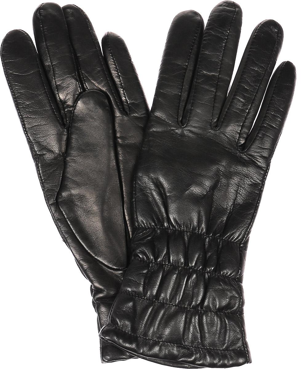 Перчатки женские Dali Exclusive, цвет: черный. 11_PLIA. Размер 711_PLIA/BLЖенские перчатки Dali Exclusive не только защитят ваши руки, но и станут великолепным украшением. Перчатки выполнены из натуральной кожи, а подкладка - из высококачественной шерсти. Модель оформлена эластичными прострочками.