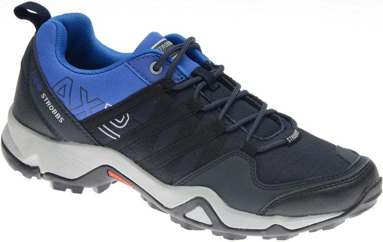 Кроссовки мужские Strobbs, цвет: синий, голубой. C2283-2. Размер 42C2283-2Стильные мужские кроссовки Strobbs отлично подойдут для активного отдыха и повседневной носки. Верх модели выполнен из текстиля и искусственной кожи. Удобная шнуровка надежно фиксирует модель на стопе. Толстая, протекторная подошва позволяет комфортно ощущать себя на каменистой поверхности. Промежуточный слой подошвы выполнен из ЭВА-материала, что позволяет снизить вес обуви.