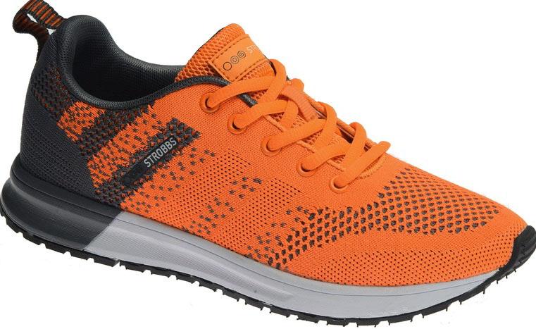 Кроссовки женские Strobbs, цвет: оранжевый. F6509-21. Размер 39F6509-21Стильные женские кроссовки Strobbs отлично подойдут для активного отдыха и повседневной носки. Верх модели выполнен из текстиля по бесшовной технологии. Удобная шнуровка надежно фиксирует модель на стопе. Подошва обеспечивает легкость и естественную свободу движений. Мягкие и удобные, кроссовки превосходно подчеркнут ваш спортивный образ и подарят комфорт.