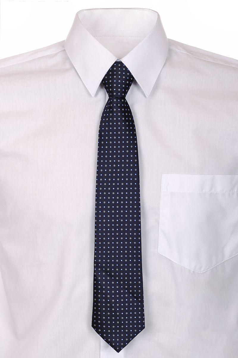 Галстук для мальчика Brostem, цвет: темно-синий. RCAL-29. Размер универсальныйRCAL-29Модный галстук для мальчика Brostem изготовлен из полиэстера. Обхват шеи регулируется с помощью пластикового фиксатора. Галстук оформлен оригинальным принтом.