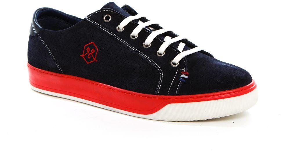Полуботинки мужские Milana, цвет: синий. 161755-1-3501. Размер 45161755-1-3501Стильные мужские полуботинки Milana - отличный вариант на каждый день. Шнуровка надежно фиксирует обувь на ноге. Резиновая подошва с протектором гарантирует отличное сцепление с поверхностью. В таких ботинках вашим ногам будет комфортно и уютно. Они подчеркнут ваш стиль и индивидуальность.