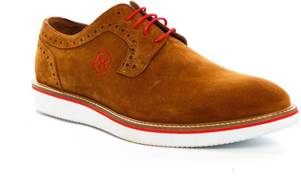 Полуботинки мужские Milana, цвет: рыжий. 161756-1-2261. Размер 44161756-1-2261Стильные мужские полуботинки Milana - отличный вариант на каждый день. Шнуровка надежно фиксирует обувь на ноге. Резиновая подошва с протектором гарантирует отличное сцепление с поверхностью. В таких ботинках вашим ногам будет комфортно и уютно. Они подчеркнут ваш стиль и индивидуальность.