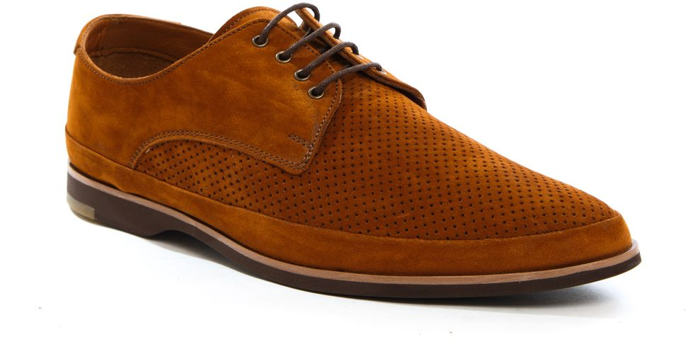Полуботинки мужские Milana, цвет: рыжий. 161757-1-8261. Размер 43161757-1-8261Стильные мужские полуботинки Milana - отличный вариант на каждый день. Модель выполнена из нубука. Шнуровка надежно фиксирует обувь на ноге. Резиновая подошва с протектором гарантирует отличное сцепление с поверхностью. В таких ботинках вашим ногам будет комфортно и уютно. Они подчеркнут ваш стиль и индивидуальность.