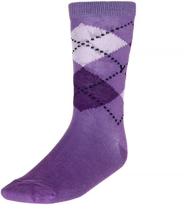 Носки для девочки Baykar, цвет: фиолетовый, мультиколор, 2 пары. 330812-12. Размер 20,5/22, 9 лет330812-12Носки для девочки Baykar изготовлены из высококачественного эластичного хлопка с добавлением полиамида. Эластичная резинка в паголенке плотно облегает ногу, не сдавливая ее, обеспечивая комфорт и удобство. В комплект входят 2 пары носков.