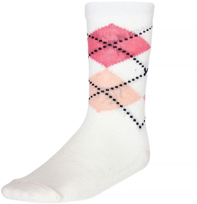 Носки для девочки Baykar, цвет: молочный, мультиколор, 2 пары. 330812-17. Размер 18,5/20, 7 лет330812-17Носки для девочки Baykar изготовлены из высококачественного эластичного хлопка с добавлением полиамида. Эластичная резинка в паголенке плотно облегает ногу, не сдавливая ее, обеспечивая комфорт и удобство. В комплект входят 2 пары носков.