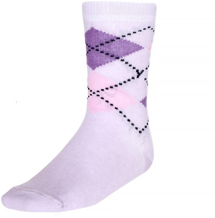 Носки для девочки Baykar, цвет: сиреневый, мультиколор, 2 пары. 330812-53. Размер 18,5/20, 7 лет330812-53Носки для девочки Baykar изготовлены из высококачественного эластичного хлопка с добавлением полиамида. Эластичная резинка в паголенке плотно облегает ногу, не сдавливая ее, обеспечивая комфорт и удобство. В комплект входят 2 пары носков.