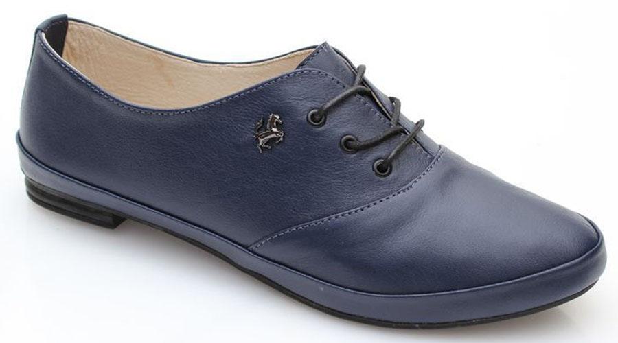 Полуботинки женские Spur, цвет: синий. 4ST_236. Размер 384ST_236Оригинальные женские полуботинки от Spur покорят вас своим дизайном и удобством! Модель выполнена из натуральной кожи. Шнуровка обеспечивает надежную фиксацию обуви на ноге. Мягкая стелька из натуральной кожи с отверстиями позволяет вашим ногам дышать. Резиновая подошва с рельефной поверхностью обеспечивает отличное сцепление с любыми поверхностями.