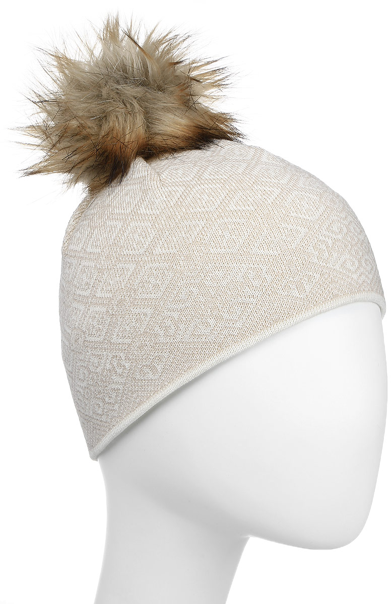 Шапка Kama Fashion Beanies, цвет: белый. A92_101. Размер универсальныйA92_101Шапка с норвежским узором из 100% шерсти для самых суровых зимних дней.