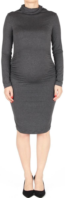 Платье для беременных Mammy Size, цвет: серый. 6031522171. Размер 466031522171Платье для беременных Mammy Size прекрасно подойдет для каждодневного ношения и для праздничных событий. Удобно, красиво, изысканно подчеркнет вашу фигуру и беременность.