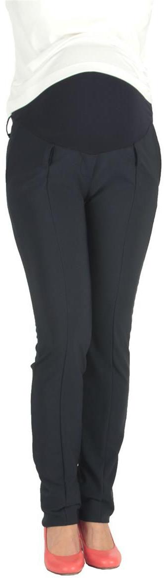 Брюки для беременных Mammy Size, цвет: темно-синий. 1820102173. Размер 521820102173Классические брюки Mammy Size выполнены из полиэстера и спандекса. Модель с удобной резинкой.