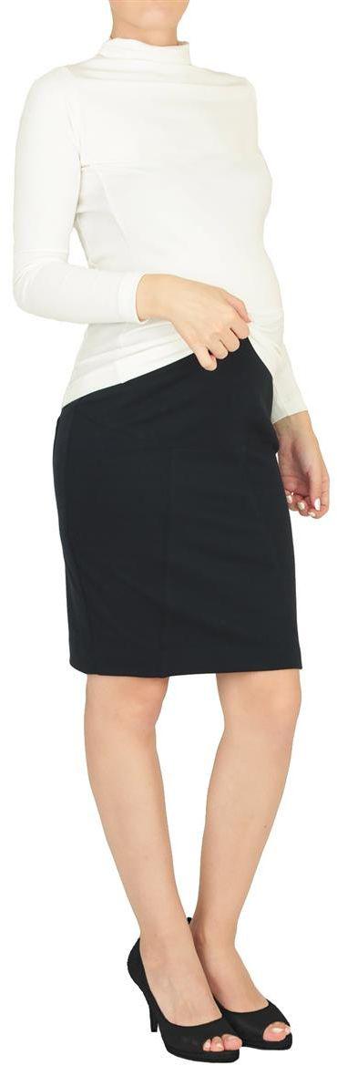 Юбка для беременных Mammy Size, цвет: синий. 2792192173. Размер 502792192173Юбка для беременных Mammy Size выполнена из качественного материала, что позволяет изделию не деформироваться при носке. Модель прямого кроя удобной резинкой, не сдавливающей живот даже на последнем месяце беременности. Стильная и удобная юбка займет достойное место в гардеробе молодой мамы.