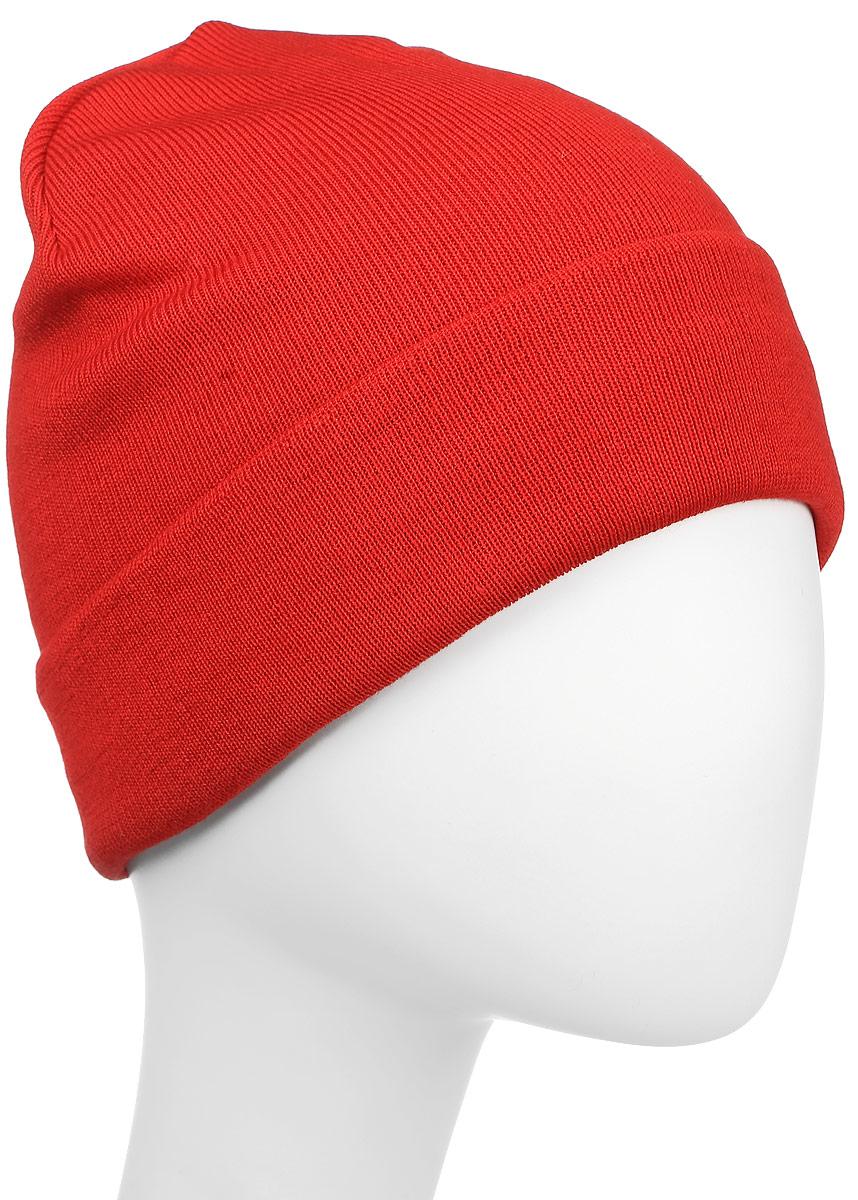 Шапка Kama Kamakadze, цвет: красный. K50_104. Размер универсальныйK50_104Классическая шапка-бини из смесовой шерсти. Отлично подойдет для активного отдыха и повседневной носки. Обработано антибактериальной и поглощающей неприятные запахи пропитками.