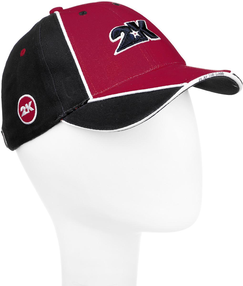 Бейсболка 2K Sport Dimaro, цвет: темно-синий, красный, белый. 124223. Размер 58/60124223_navy/red/whiteБейсболка 2K Sport Dimaro выполнена из натурального хлопка и имеет классическую панельную конструкцию. Модель с плотным козырьком оформлена объемными фирменными вышивками. Бейсболка имеет небольшие отверстия, обеспечивающие дополнительную вентиляцию. Объем бейсболки регулируется при помощи хлястика с металлической застежкой-фиксатором, оформленной гравировкой.