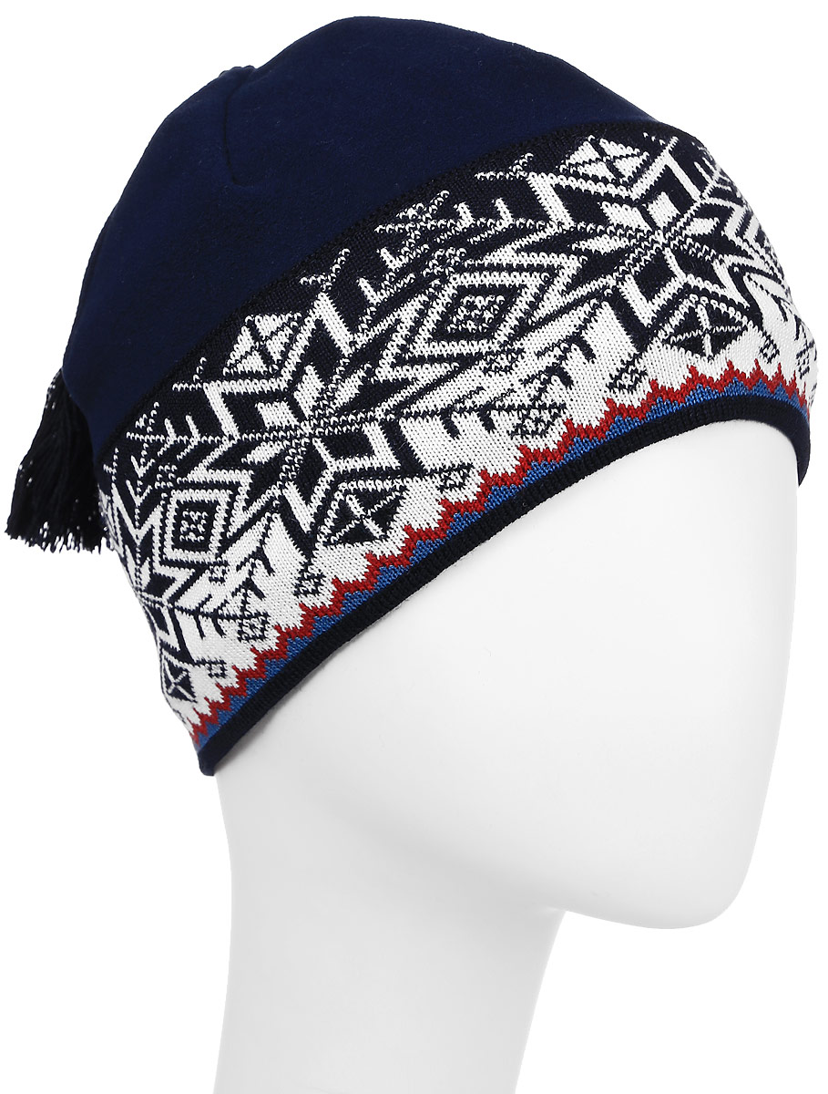 Шапка Kama Alpine Beanies, цвет: синий. A52_108. Размер 56/58A52_108Комбинированная шапка из материала Tecnopile fleece 420 гр и шерсти отлично защити от холода, и позволит лишней влаге быстро испаряться.