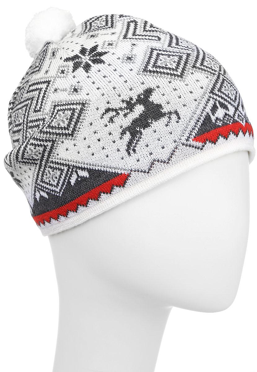 Шапка Kama Alpine Beanies, цвет: белый. A58_100. Размер 58/60A58_100Теплая шапка с маленьким помпоном. Для лучшего сохранения тепла с внутренней стороны повязка, выполненная из нитей Thermolite.