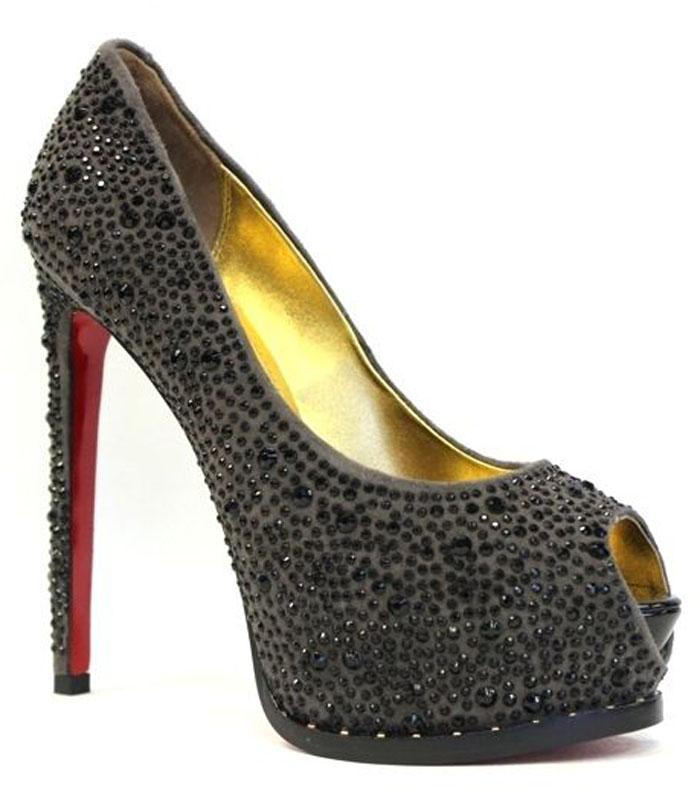 Туфли женские Graciana, цвет: серый. M64-96 SIS. Размер 37M64-96 SISЖенские туфли от Graciana с открытым мыском на шпильке и на скрытой платформе выполнены из натуральной замши и декорированы стразами. Подкладка, изготовленная из натуральной кожи, обладает хорошей влаговпитываемостью и естественной воздухопроницаемостью. Стелька из натуральной кожи гарантирует комфорт и удобство стопам. Подошва из полимерного термопластичного материала обеспечивает хорошую амортизацию и сцепление с любой поверхностью.