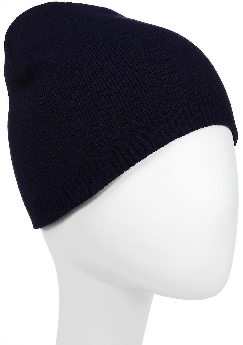 Шапка Converse Core Knit Beanie, цвет: черный. 527574. Размер универсальный527574Стильная вязаная шапка Converse Core Knit Beanie дополнит ваш наряд и не позволит вам замерзнуть в прохладное время года. Шапка выполнена из высококачественного акрила. Модель понизу связана резинкой. Спереди шапка оформлена фирменной нашивкой.