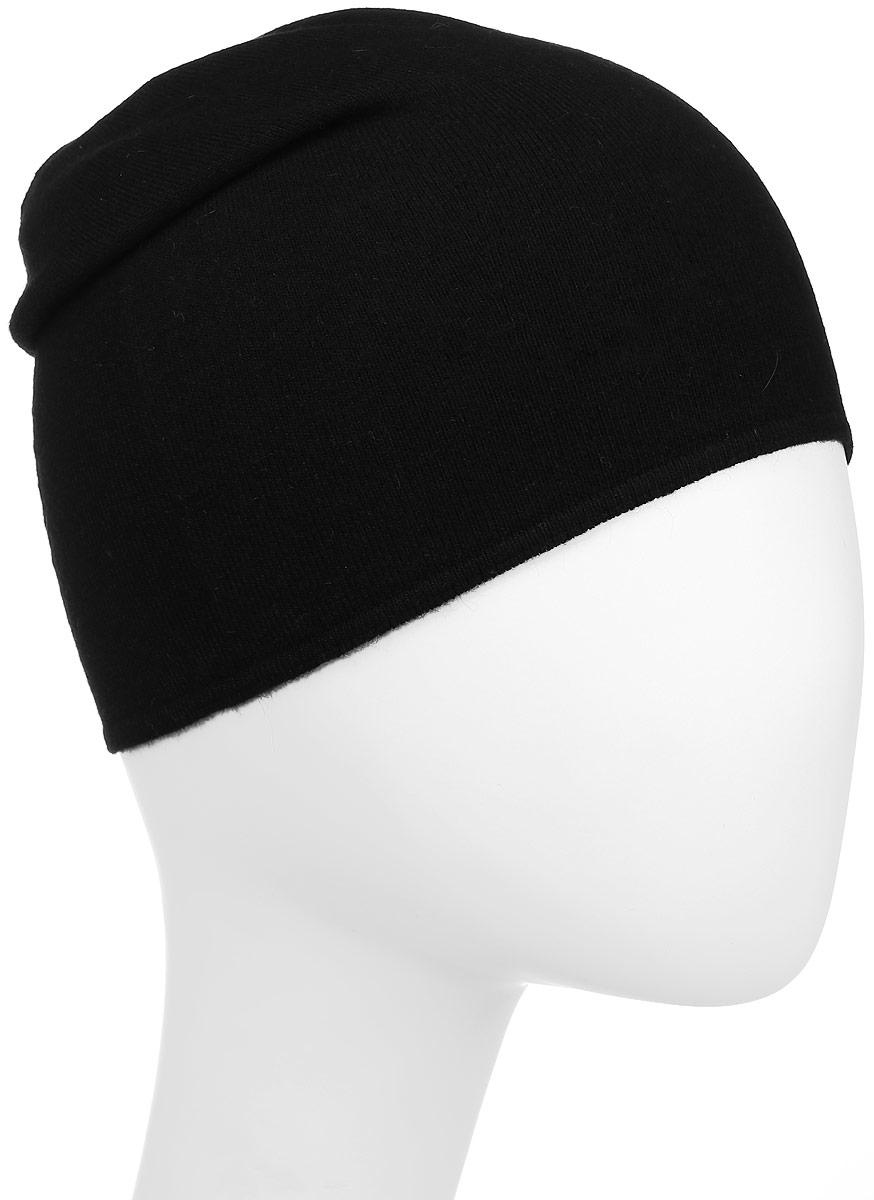 Шапка Herman, цвет: черный. MASSAK. Размер 54/61MASSAKШапка Herman выполнена из вискозы и акрила с добавлением полиамида и ангоры. Модель оформлена фирменной нашивкой с названием бренда. Шапка стандартной формы комфортна при носке и плотно сидит на голове.