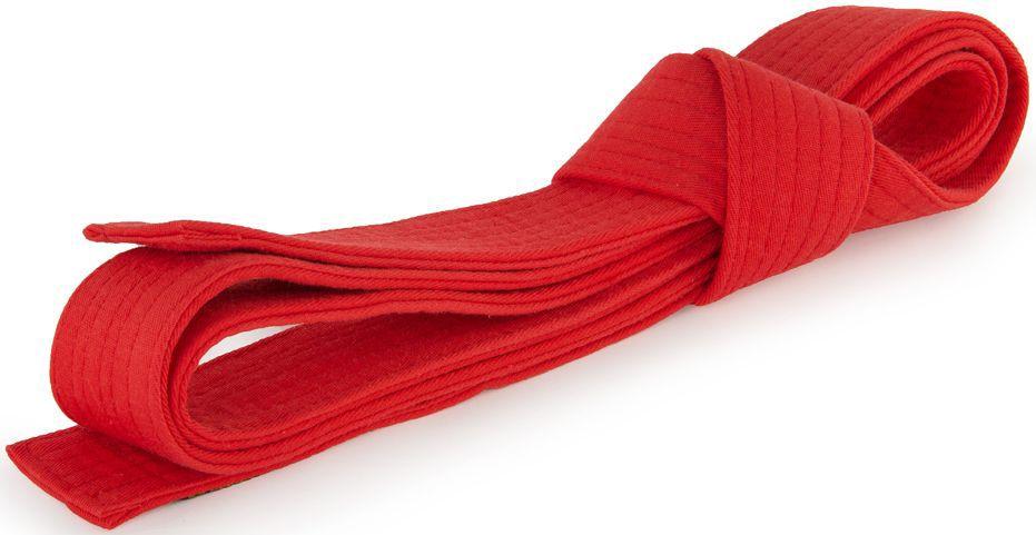 Пояс для кимоно Jabb, цвет: красный. JE-2783_339688. Размер 4 см х 220 смJE-2783_339688Пояс Jabb - универсальный пояс для кимоно. Пояс выполнен из плотного хлопкового материала с многорядной прострочкой.