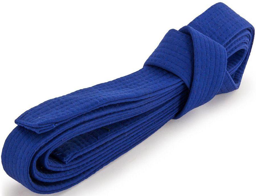 Пояс для кимоно Jabb, цвет: синий. JE-2783_339689. Размер 4 см х 260 смJE-2783_339689Пояс Jabb - универсальный пояс для кимоно. Пояс выполнен из плотного хлопкового материала с многорядной прострочкой.