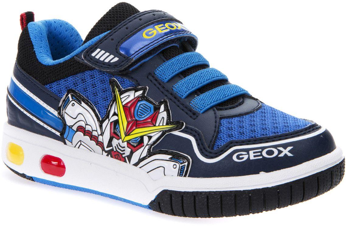 Кроссовки для мальчика Geox, цвет: синий, светло-голубой. J7247A01454C0693. Размер 37J7247A01454C0693Модные кроссовки для мальчика Geox покорят своим удобством. Модель выполнена из полиэстера. Застежка-липучка обеспечивает плотное прилегание модели на ноге. Стильные кроссовки прекрасно впишутся в гардероб.