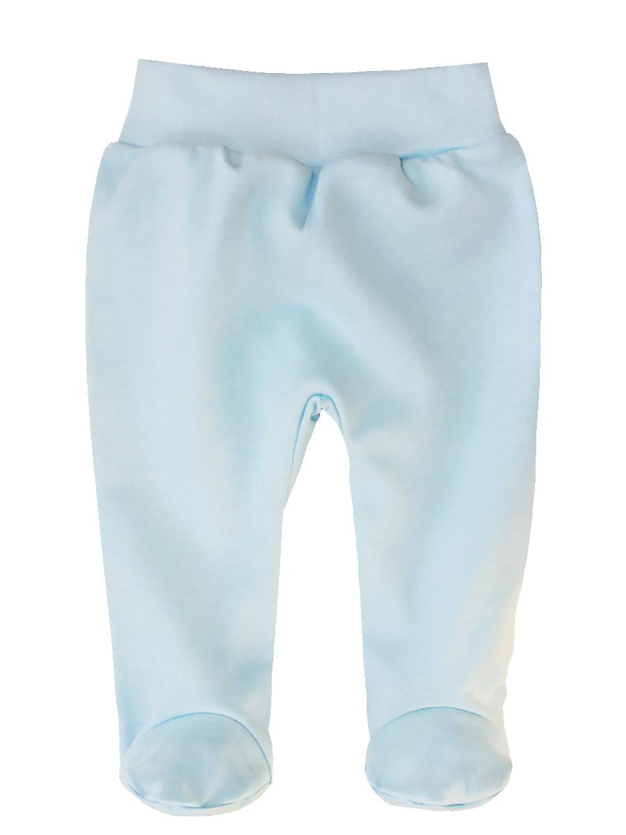 Ползунки КотМарКот Бельчонок, цвет: голубой. 5204. Размер 565204Детские ползунки КотМарКот Бельчонок выполнены из натурального хлопка. Модель с закрытыми ножками дополнена широким эластичным поясом.