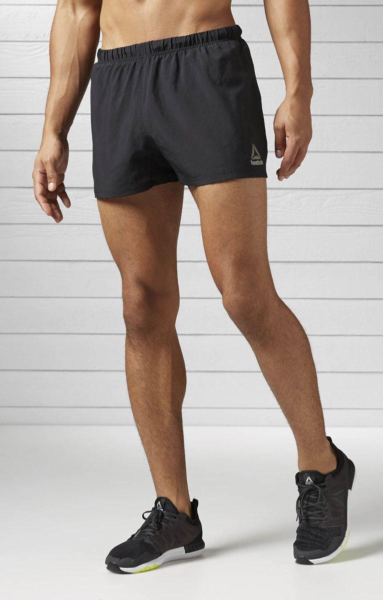 Шорты мужские Reebok Re 3 Inch Short, цвет: черный. BK7297. Размер M (48/50)BK7297Классические короткие шорты Reebok Re 3 Inch Short из полиэстера отличного качества. Идеально сидят, поскольку - разумный баланс: не слишком широкие, но и не узкие (если правильно подобран размер). Удобные внутренние укороченные сетчатые поддерживающие шортики с ластовицей. Для регулировки верхней части, можно воспользоваться шнурком. Для тех, кто приобретает шорты для тренировок: ткань выполнена по технология Speedwick, которая отводит излишки тепла и влаги при физической нагрузке.