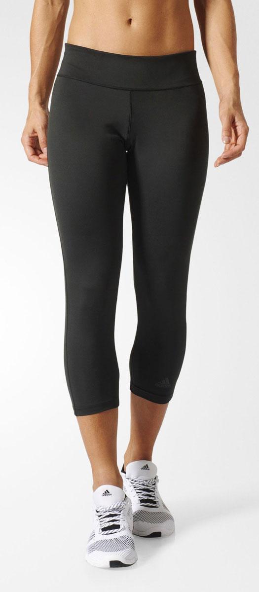 Леггинсы женские adidas D2M 3/4 Tight, цвет: черный. BQ2260. Размер XXS (38)BQ2260Леггинсы женские adidas D2M 3/4 Tight, идеальные для упражнений с повторяющимися выпадами и глубокими приседаниями. Облегающий крой, который не сковывает движения и обеспечивает комфорт. Легкая и эластичная ткань. Ткань с технологией climalite быстро и эффективно отводит влагу с поверхности кожи, поддерживая комфортный микроклимат.