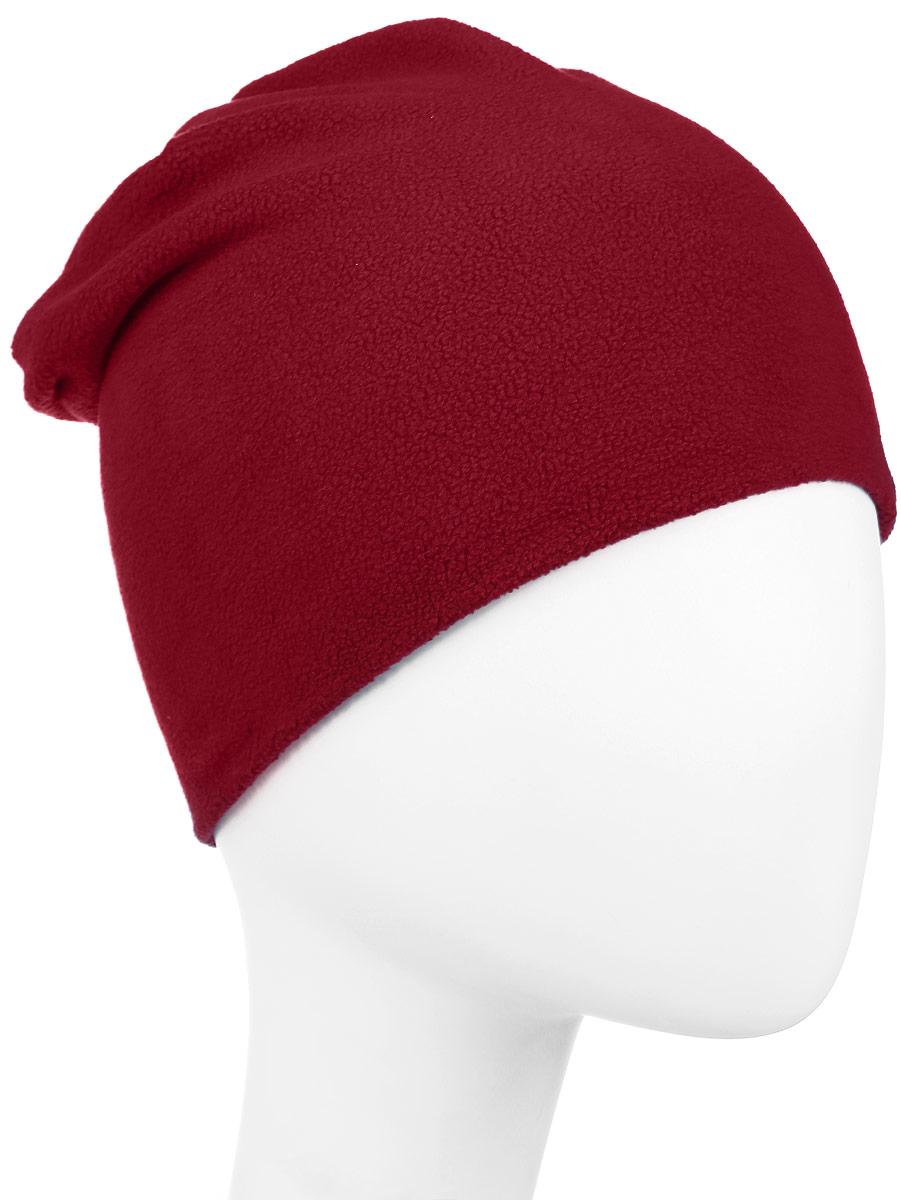 Шапка детская Boom!, цвет: красный. 70314_BAU_вар.3. Размер 5670314_BAU_вар.3Мягкая и уютная детская шапка Boom! изготовлена из двухслойного флиса. Однотонная модель оформлена нашивкой с логотипом бренда.Размер, доступный для заказа, является обхватом головы ребенка.