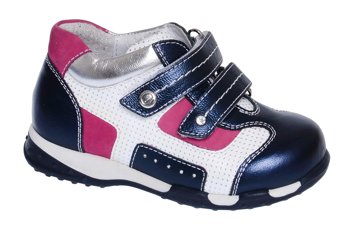 Ботинки для девочки Elegami, цвет: темно-синий, белый, фуксия. 7-87061701. Размер 257-87061701Модные детские ботинки от Elegami выполнены из натуральной кожи. Модель оформлена декоративной перфорацией и контрастной прострочкой. Внутренняя поверхность и стелька из натуральной кожи предотвращают натирание и гарантируют комфорт. Стелька дополнена супинатором с перфорацией, который обеспечивает правильное положение ноги ребенка при ходьбе. Ремешки с застежкой-липучкой обеспечивают надежную фиксацию обуви на ноге. Подошва выполнена из прочного ТЭП-материала и оснащена рифлением для лучшей сцепки с поверхностью. Стильные ботинки - незаменимая вещь в гардеробе вашего ребенка.