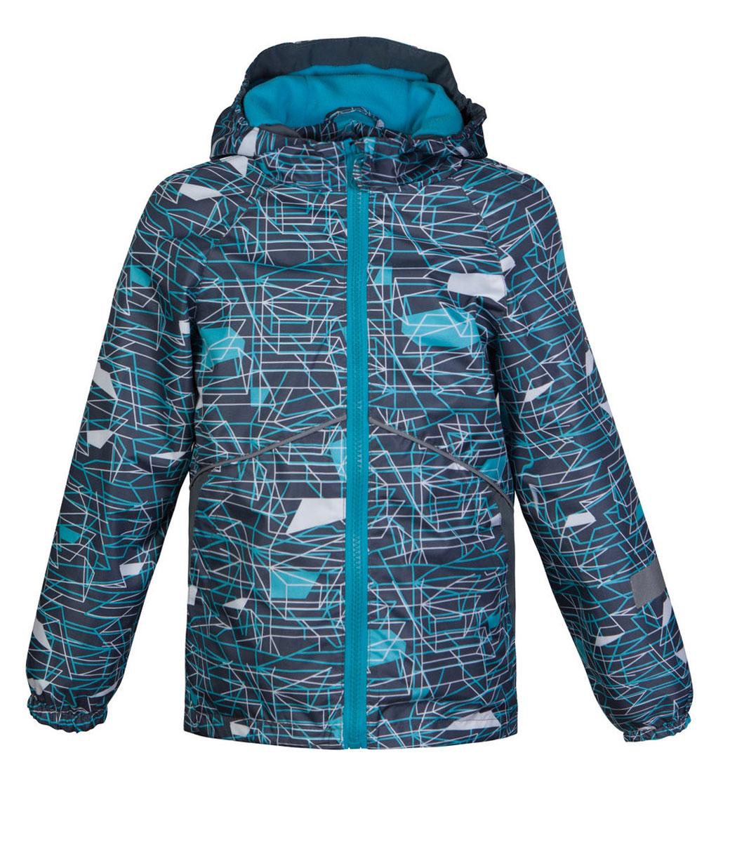 Ветровка для мальчика Jicco Старт, цвет: серый, голубой. 3К1718. Размер 92, 2 года3К1718Легкая весенняя ветровка Старт от Jicco By Oldos из принтованной курточной ткани станет украшением весеннего гардероба. Такая курточка идеально подойдет на ветреную погоду с температурой +10…+20°С, она защитит от легкого весеннего дождя и переменчивого ветра. Модель застегивается на молнию. По всей длине молнии имеется внутренняя ветрозащитная планка с защитой подбородка от прищемления. Модель имеет флисовую подкладку на груди, спинке и в капюшоне. Капюшон не отстегивается, для лучшего прилегания по бокам вшита резинка. Манжеты рукавов на резинке, низ куртки снабжен регулируемой утяжкой. Светоотражающие элементы для безопасной прогулки в темное время суток. С лицевой стороны расположены карманы на молнии.